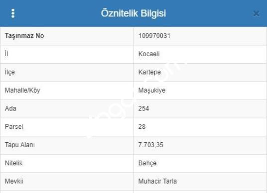 Kocaeli Kartepe Maşukiye'de Satılık Arsa,Fındık Bahçesi - undefined