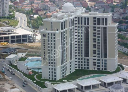 Ataşehir Deluxia Palace Finans MERKEZİ Yakın Kiralık Daire 1+1 - Site İçi Görünüm