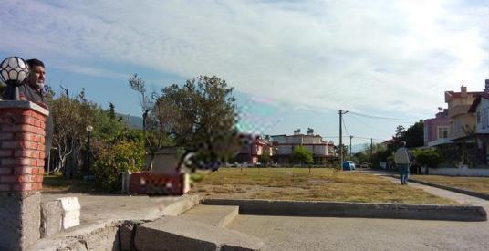 ALTINOLUK, FENER'DE DENİZE SIFIR ARSA - Sokak Cadde Görünümü