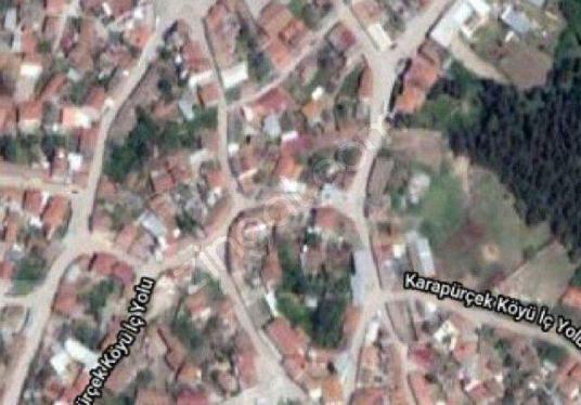 Susurluk Karapürçek te satılık 598m2 müstakil köy evi - Harita