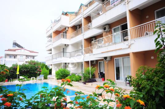 Kemer Arslanbucak ta kiralık 2 odalı havuzlu site içinde daire - Dış Cephe