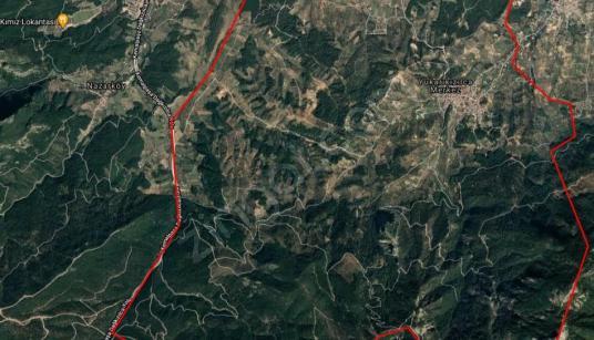 Turyap Bornova'dan Yukarı Kızılca'da Satılık 5 Dönüm Bahçe - Manzara