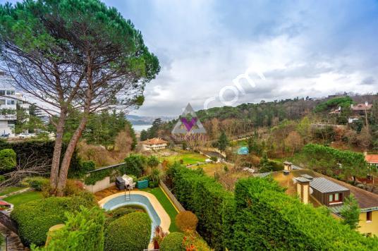Yeniköy Koruda Satılık Müstakil Havuzlu Boğaz Manzaralı Villa - Site İçi Görünüm