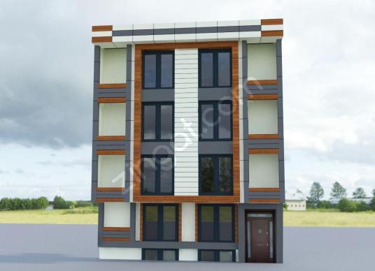 Yeni başlayan inşaattan satılık dubleks altı 2+1 daire - Dış Cephe