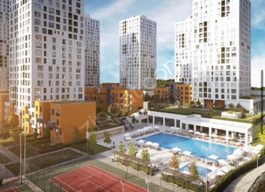 3+1 SATİLİK Selling apartment in hep Istanbul - Site İçi Görünüm