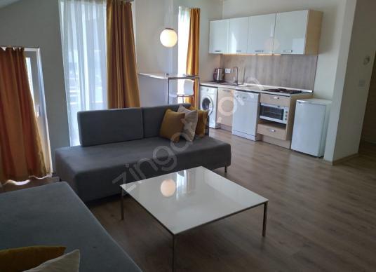 Green Homes'tan Satılık Konyaaltı Hurma'da 2+2 residence eşyalı - Salon