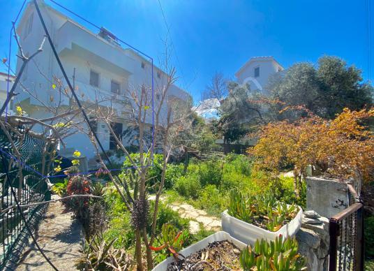 Datça Merkez satılık yarı müstakil bahçeli 4+1 Tripleks - Sokak Cadde Görünümü