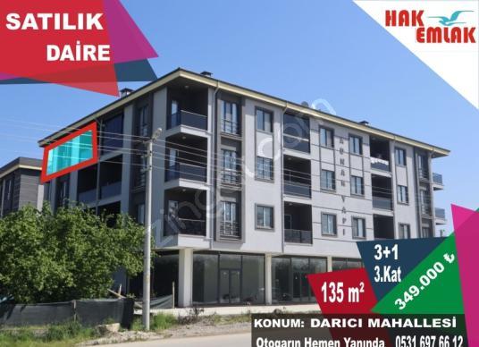 Hak Emlak'tan Darıcı Mah.'de Satılık 135 m2 3+1 Çok Geniş Daire