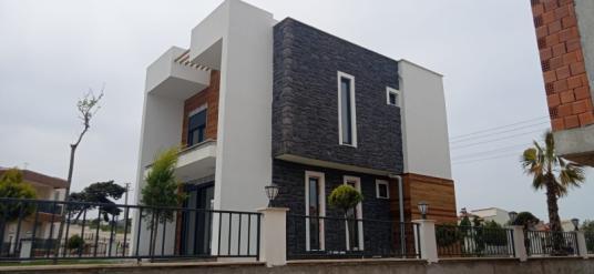 Karaağaç'ta Satılık mühteşem deniz manzaralı Müstakil villa - Dış Cephe