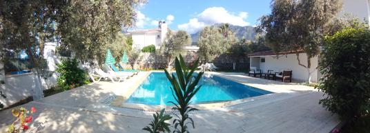 Fethiye Ovacık'ta Müstakil Havuzlu Bahçeli Villa - Yüzme Havuzu