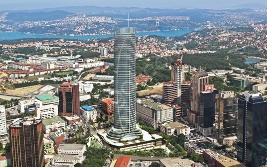 SPİNE TOWER Maslak 2+1 Satılık Lux Residence