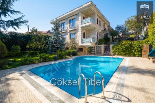 Havuzlu & Bahçeli, Özel Mimari Tasarımlı, 5+2 Müstakil Ev % - Yüzme Havuzu