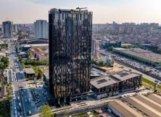 BASINEKSPRES luxe home office1+1 for saleهوم اوفيس للبيع - Site İçi Görünüm