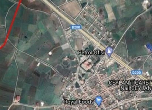 Biga Balıklıçeşme Köyü'de Satılık Tarla