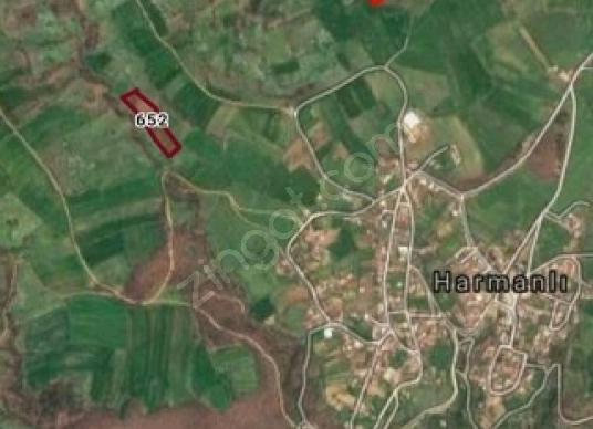 Biga Harmanlı Köyü'de Satılık Tarla