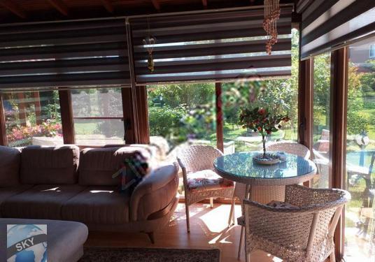 önerler semtinde satılık villa - Balkon - Teras