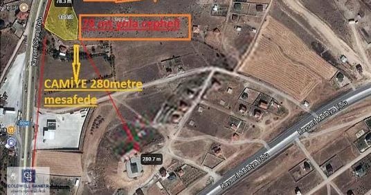 BARSAMA'DA KAYSERİ-SİVAS ÇEVREYOLUNA CEPHELİ 5.700m2 TİCARİ ARSA