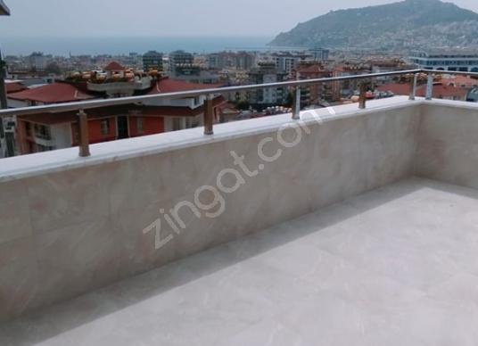 HASBAHÇEDE SIFIR BİNA FULL KALE DENİZ MANZARALI 3+1 TERS DUBLEKS - Balkon - Teras