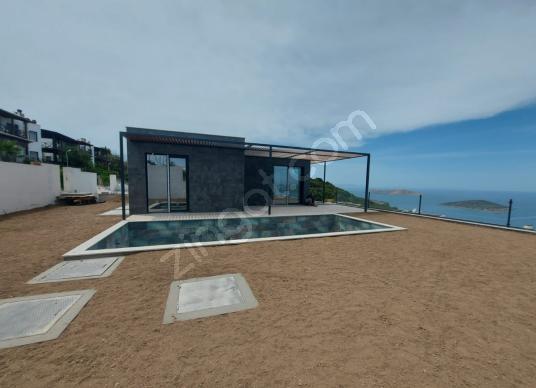 Bodrum Yalıkavak Geriş'te Satılık Deniz Manzaralı Müstakil Villa