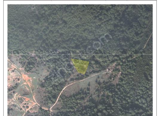 Güzelbahçe Çamlıda Satılık Yatırımlık 2089 M2 Parselli Arsa - Kat Planı