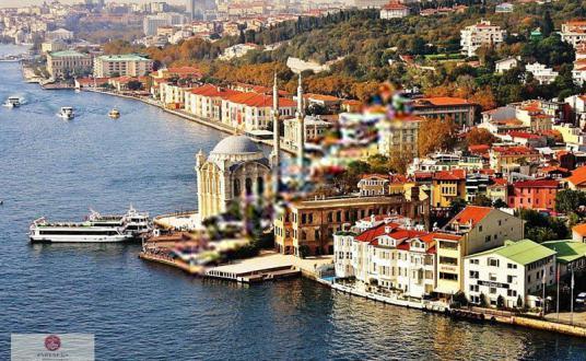 Ortaköy'de Muhteşem Manzaralı Satılık Butik Otel - Manzara