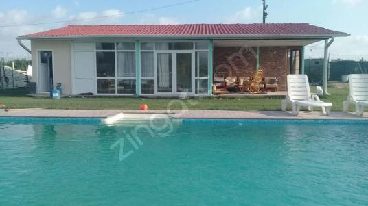 FEVZİÇAKMAK MAHALLESİN'DE HAVUZLU MÜSTAKİL EV - Yüzme Havuzu