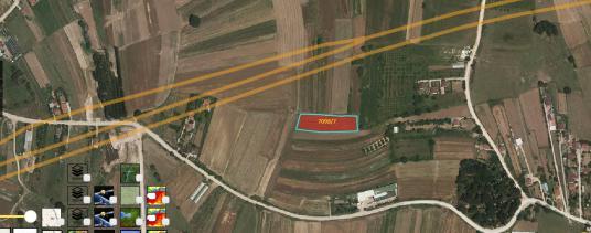 Eskidji'den Eseler Köyü Satılık 3585 m2 Tarla - Çocuk Oyun Alanı