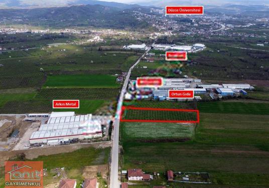 SANAYİ İMARLI 5.580 m² KONURALP'te ASFALT KENARINDA SATILIK ARSA