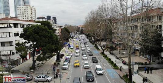 BAĞDAT CADDESİ FENERYOLU IŞIKLARDA 4ODA SALON 1.KAT ÖZELDEKORLU - Sokak Cadde Görünümü