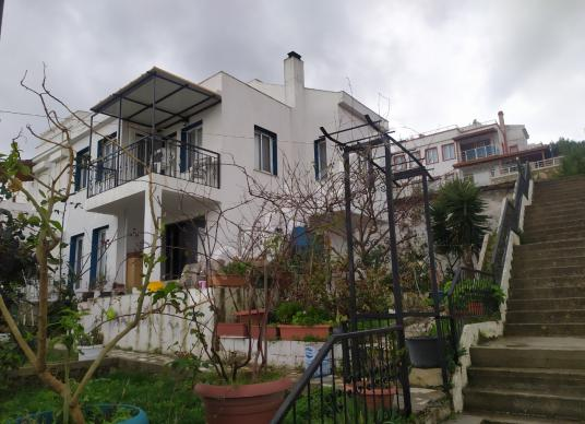 barış emlaktan Mordoğan AR-KO Sitesinde Satılık Villa - Dış Cephe