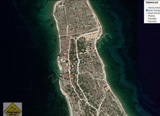 Çeşme Dalyan da Denize Sıfır 5 Dönüm Muhteşem Tarla - Arsa