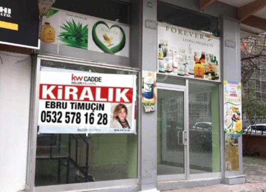 Kadıköy Bostancı'da Kiralık Cafe / Restoran / Bar - Balkon - Teras
