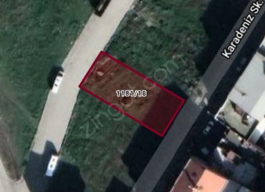 Turgutlu Selvilitepe'de Satılık 4 kat imarlı arsa - Harita