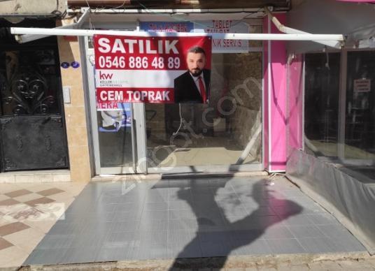 Karşıyaka Atakent Migros Sokağında 25m2 KİRALIK Dükkan - Dış Cephe