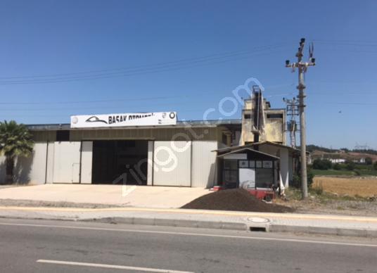 Osmaniye adana yoluna ceplehi satlık fabrika - Dış Cephe