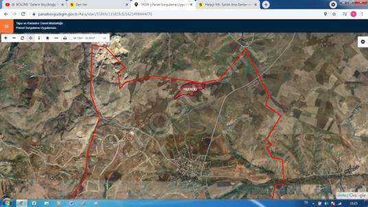 Turyap'tan Gölbaşı Hallaçlı'da 5.250 m2 Satılık Hisse - Kat Planı
