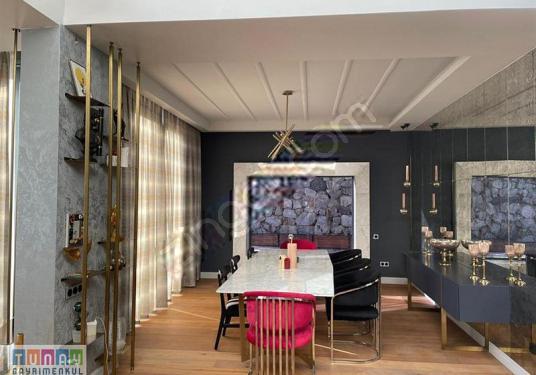 Sarıyer Uskumru'da 7+2 Mustakil Lüks Tasarımlı Satılık Villa - Salon