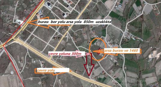 1460 square meters Vineyard For Sale in Niğde Merkez, Niğde - Harita