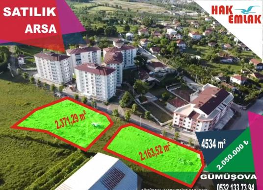 Hak Emlak'tan Gümüşova'da Yüksek Kazançlı Arsa - Site İçi Görünüm