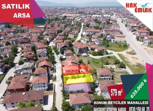 Hak Emlak'tan Beyciler Mahallesinde Satılık 579 m2 Arsa - Manzara
