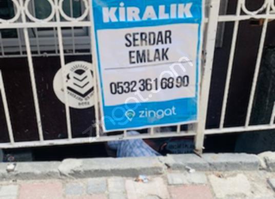 SERDAR EMLAK TANEsenler Kazım Karabekir'de Kiralık Atölye - Balkon - Teras