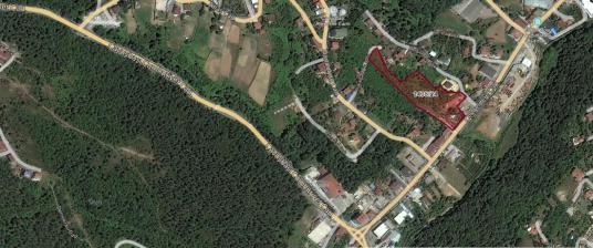 Beykoz Çengeldere Caddesi Üzerinde 8.755 m² Satılık Arazi - Site İçi Görünüm