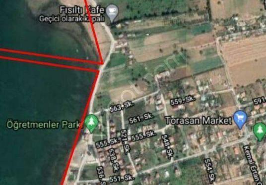 İZMİR URLA TOROSAN'DA DENİZE 300 METRE MESAFEDE 15 VİLLALIK ARSA - Harita