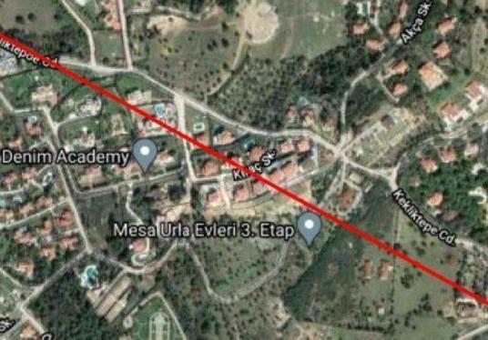 İZMİR URLA YENİCE'DE SATILIK  11.413 M2 VİLLA İAMRLI ARSA - Harita