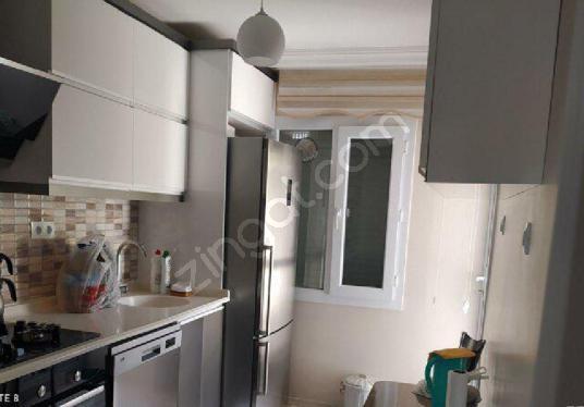 İzmir Çiğli İzkent Mah.Yeni Eşyalı Satılık 2+1 Süper Daire - Mutfak
