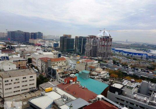 Nish İstanbul Kiralık 1+1 87 m2 Lüks Mobilyalı Residence Daire - Manzara