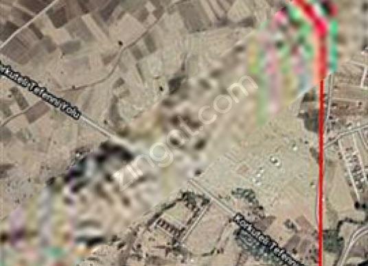 KORKUTELİ DEREKÖY YAYLASINDA İMARLI 1200m2 SATILIK ARSA - Harita