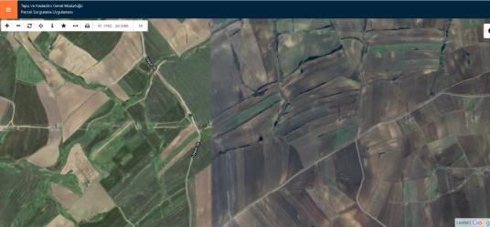 Silivri Akören'de Yola Yakın 900 M2 Hisse Tapulu Satılık Arsa - Harita