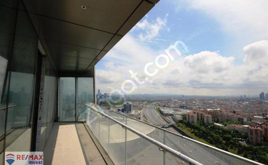 Skyland Kiralık Ofis 304m2 KDV'li Vadistanbul Seba Porta Vadi - Balkon - Teras