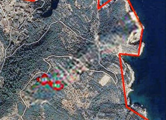 KARABURUN ANBARSEKİ KÖYÜNDE SATILIK 360 M2 DENİZ MANZARALI TARLA - Harita